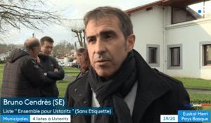 France 3 Euskal Herri : interviews des candidats aux municipales à Ustaritz