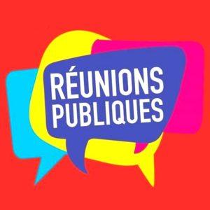 REUNIONS PUBLIQUES