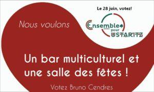 Pour un bar multiculturel associatif et une salle des fêtes à Ustaritz !
