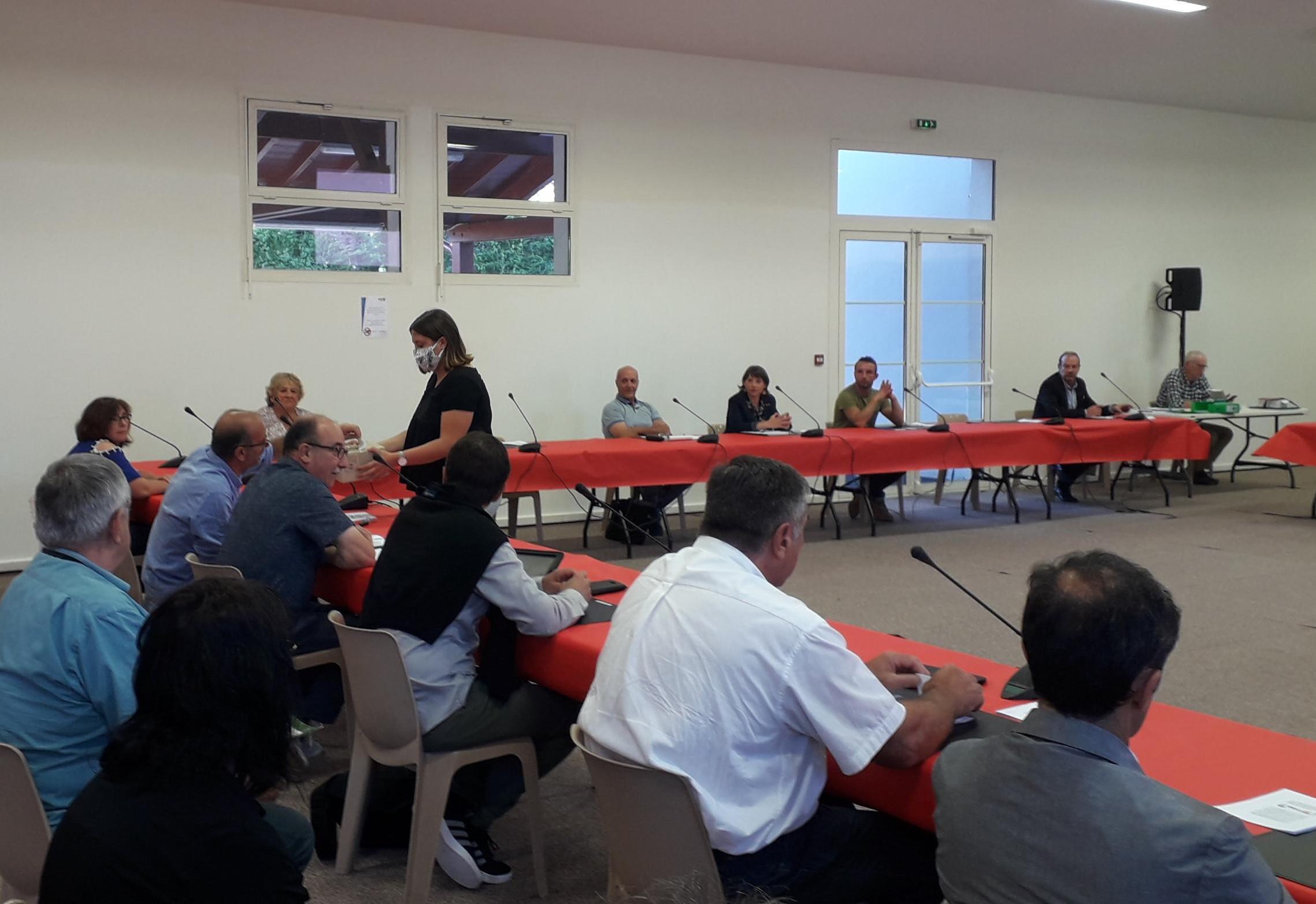 Conseil municipal: Intervention de Bruno CENDRES
